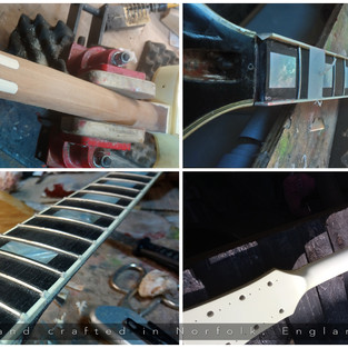 Gibson LPC Headstock Repair