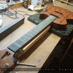 Belvoir 'Bubinga' LP Build
