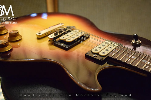 LP 8 String Junior 'Spruce' 8 String Electric Mandolin Solid Body eMando