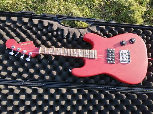 'Cherry' 4 String Electric Mandolin Solid Body eMando