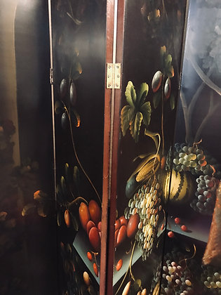 KAMERSCHERM handbeschilderd
