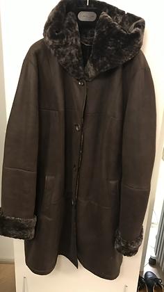 LAMMY coat met capuchon