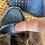 Thumbnail: TOD'S jeansmoccasin met bont