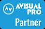 Logotipo AVISUAL PRO Partner
