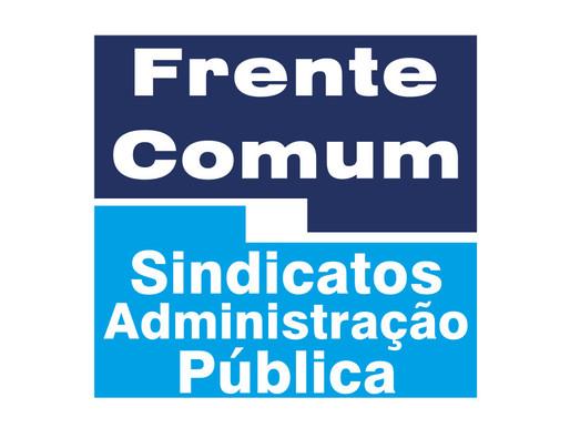 A Frente Comum não aceita que as tristes declarações do ministro da economia se concretizem!
