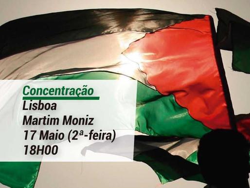 Solidariedade com a PALESTINA