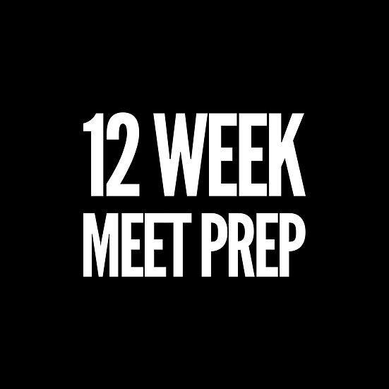 12 Week Intermediate Meet Prep (5 day)