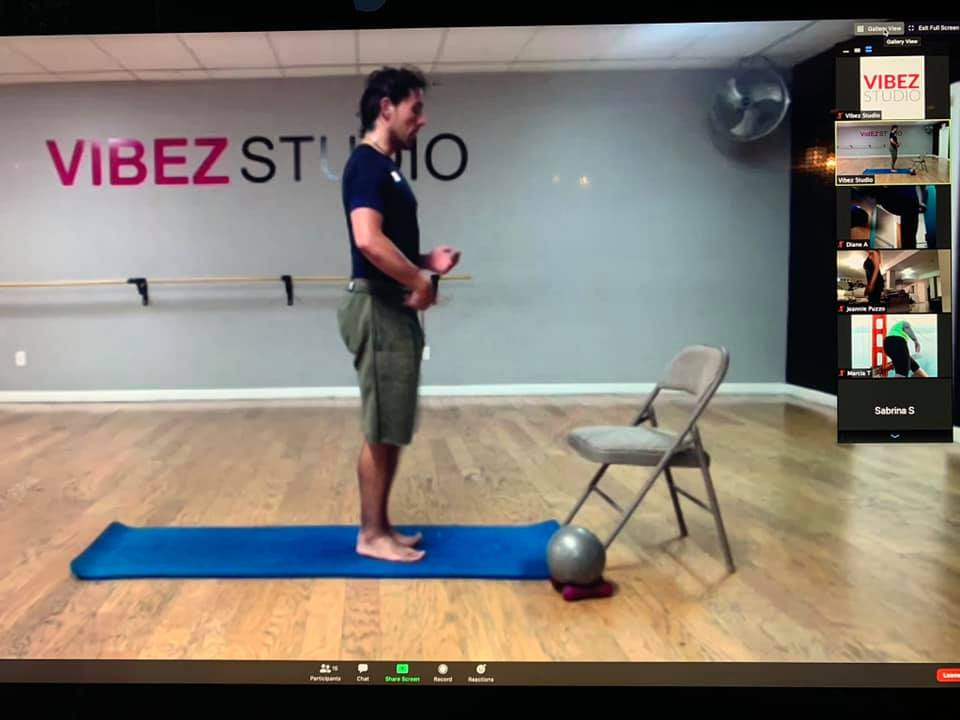Live Online Pilates
