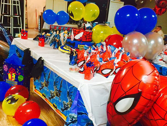 Kids Superman Birthday Party