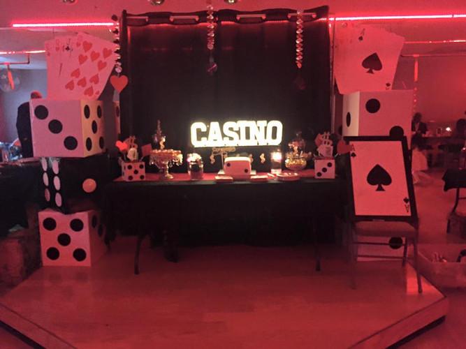 Casino themed birthday party