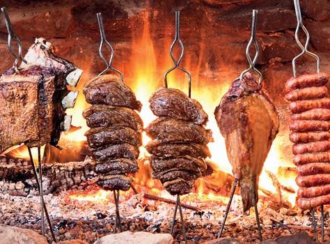 A origem do churrasco