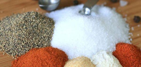 Dry Rub Americano: mistura de condimentos secos usados para temperar carnes de boi e de porco.