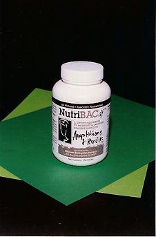 NutriBAC Bottle
