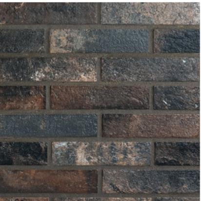 Antico Dark Brick 6cm x 25cm Wall & Floor Tile
