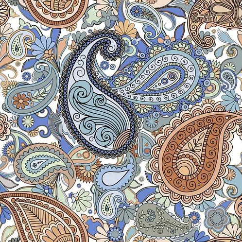 Paisley Nur 25cm x 25cm Wall & Floor Tile
