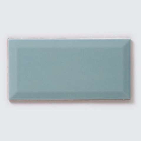 Metro Brick Gloss Devon Fern 10cm x 20cm Wall Tile