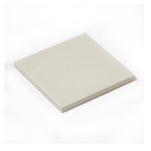 Unglazed White Quarry 9.6cm x 9.6cm Floor Tile