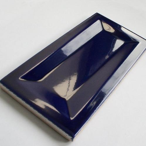 InMetro Cobalt Gloss 7.5cm x 15cm Wall Tile