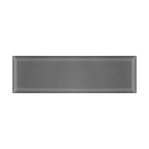 Webb Grey Bevel Gloss Wall  148mm x 498mm x 9mm