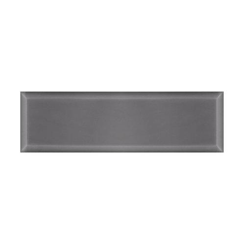 Webb Grey Bevel Gloss Wall  148mm x 498mm x 9mm