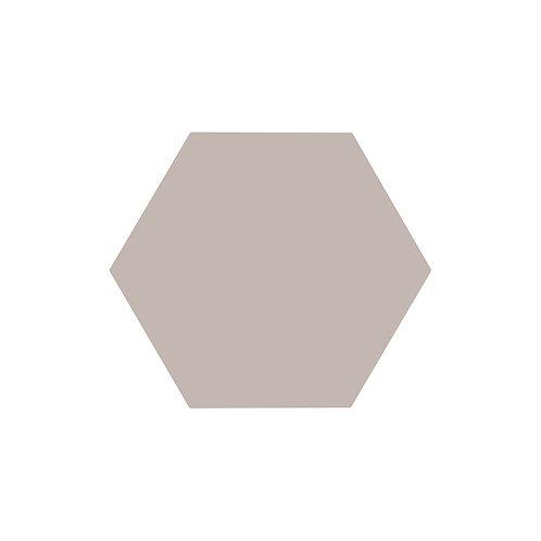 Lily Hex Base Hexagon Clay 22.8cm x 19.8cm Wall & Floor Tile