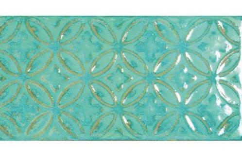 Zurbaran Aquamarina 11.2cm x 22.4cm Wall Tile