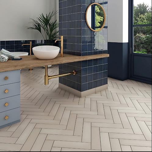 Stromboli Beige Gobi 9.2cm x 36.8cm Wall & Floor Tile