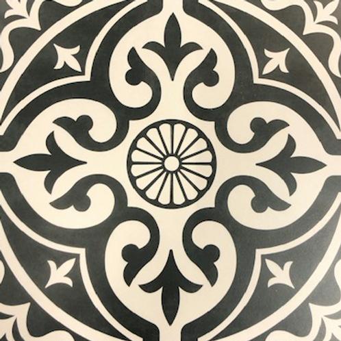 Devonstone Feature Floor Black Porcelain 331mm x 331mm x 7mm