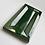 Thumbnail: InMetro Victoria Green Gloss 7.5cm x 15cm Wall Tile
