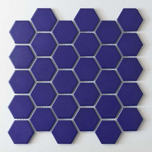 Oxford Blue Matt Mosaic 300mm x 280mm x 4mm