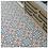 Thumbnail: Vintage Aliso Red Blue 20cm x 20cm Wall & Floor Tile
