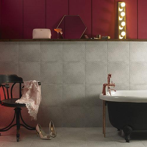 Grey Geometric Wall & Floor 331mm x 331mm x 9mm