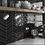 Thumbnail: Chevron Black Right 18.6 x 5.2cm Wall Tile
