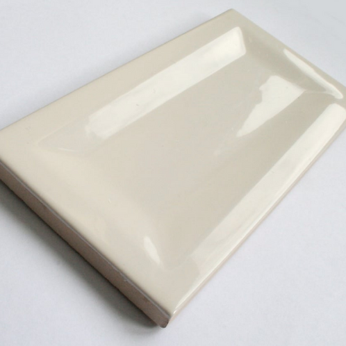 InMetro Cream Gloss 7.5cm x 15cm Wall Tile
