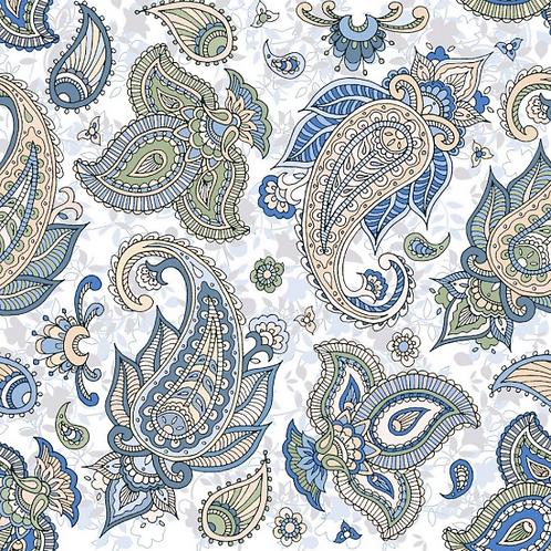 Paisley Hawa 25cm x 25cm Wall & Floor Tile