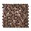 Thumbnail: Victorian Penny Copper 29.5cm x 31.5cm Mosaic Tile