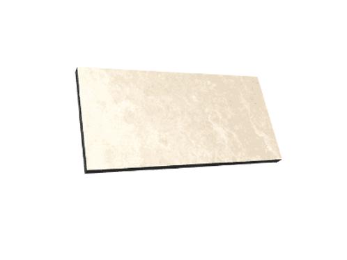 Travertine Beige 45cm x 90cm x 2cm Outdoor Floor Tile