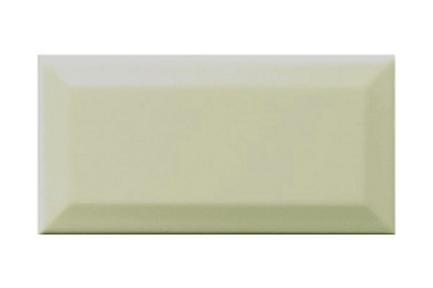 Metro Brick Gloss Celery 10cm x 20cm Wall Tile