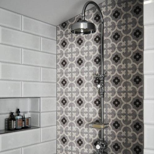 Godwin Grey Matt Wall & Floor 200mm x 200mm x 8mm