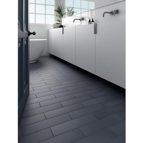 Stromboli Glassy Blue 9.2cm x 36.8cm Wall & Floor Tile