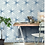 Thumbnail: Lily Hex Hexagon Denim Line 22.8cm x 19.8cm Wall & Floor Tile