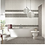 Thumbnail: Terrazzo Light Grey 20cm x 20cm Wall & Floor Tile
