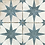 Thumbnail: Scintilla Sapphire Star Pattern 45cm x 45cm Wall & Floor Tile