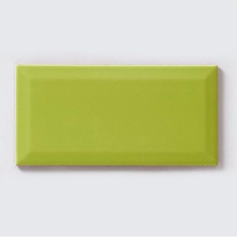 Metro Brick Gloss Lime 10cm x 20cm Wall Tile