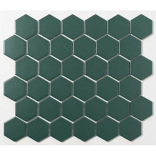 Pine Green Matt Mosaic 300mm x 280mm x 5mm