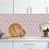 Thumbnail: Hexagon Matt Pink Mosaic (9.5cm x 9.5cm) 29.5cm x 25.6cm Wall & Floor Tile