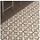 Thumbnail: Vintage Firenze Dark Grey 20cm x 20cm Wall & Floor Tile