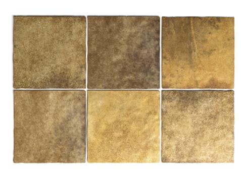 Artisan Gold 13.2cm x 13.2cm Wall Tile