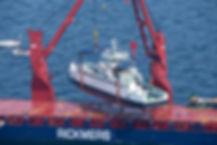 Project cargo Rickmers logistics interliner agencies
