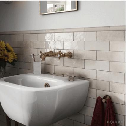 Artesano Ochre 6.5cm x 20cm Wall Tile